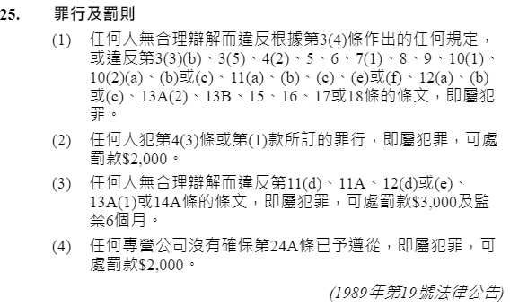 图片来源:电子版香港法例