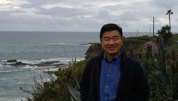 资料图:被朝鲜扣押的美国人金尚德(Tony Kim)。来源:视觉中国