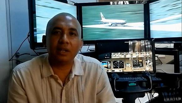 资料图:失联的MH370航班机长扎哈里·沙阿(Zaharie Ahmad Shah)。来源:视觉中国