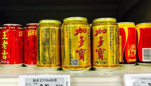 加多宝产品在北京相当多超市出现了缺货。摄影:赵晓娟