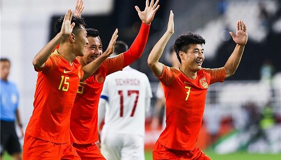 武磊世界波梅开二度,亚洲杯国足3-0菲律宾迎连胜