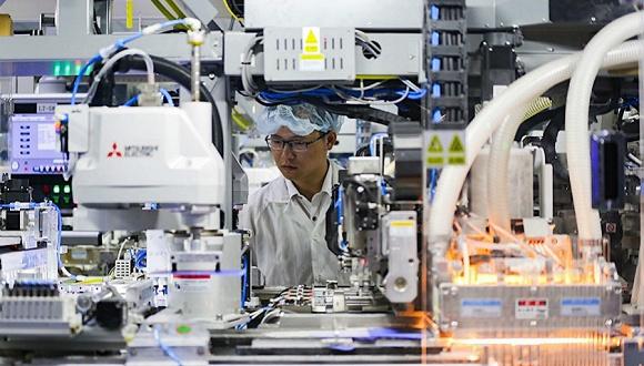 9月中国制造业PMI超预期反弹 生产需求双双扩张