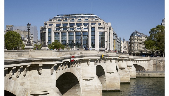 巴黎购物又多新去处 阔别15年的莎玛丽丹百货明年重新营业巴黎莎玛丽丹