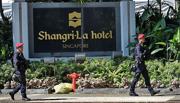 举办过多次重要会谈的新加坡香格里拉酒店。图片来源:视觉中国