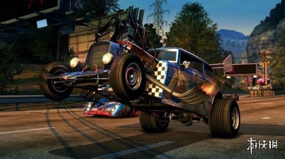 《火爆狂飙5天堂》复刻版Xbox 360和Xbox One X画面对