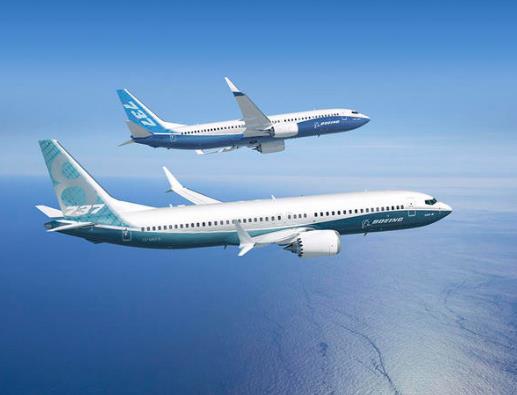 波音737型号飞机资料图(图源:CBS新闻)