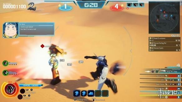 PS4《新高达破坏者》沙漠舞台试玩影像公布 展示