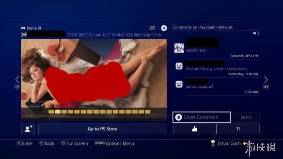 PS4直播程序少儿不宜?成人电影截图作封面令人咋舌