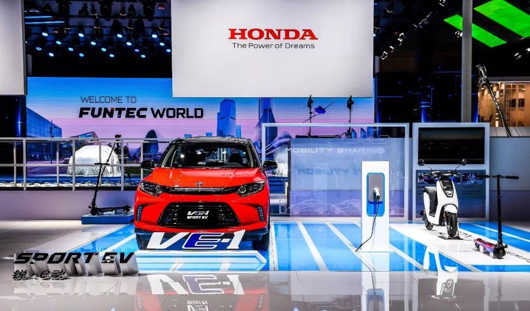 科技改变生活,简直就是对本届车展本田品牌的最佳总结
