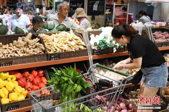 三季度农产品市场运行基本平稳