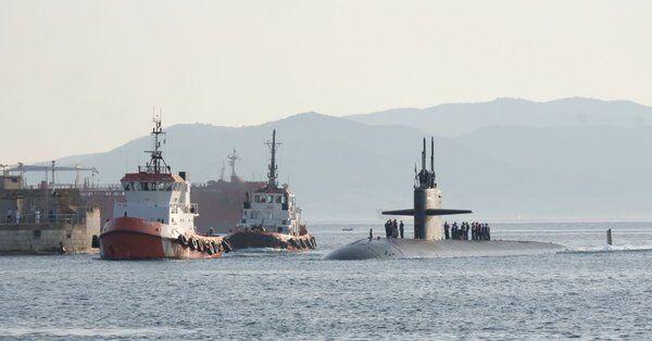 叙利亚局势紧张之际 美核潜艇携巡航导弹进地中海