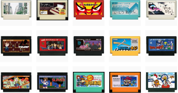 《我的FC游戏卡》设计展4月27日举行 玩家作品各