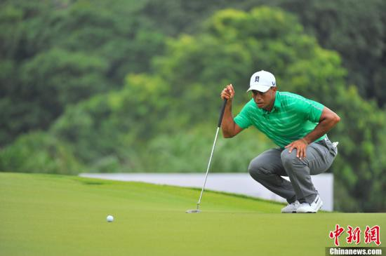伍兹夺得美国高尔夫球大师赛冠军