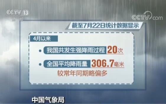 8月份暴雨台风仍将多发登陆我国的台风强度较强