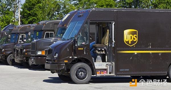 百年物流巨头UPS申请区块链专利