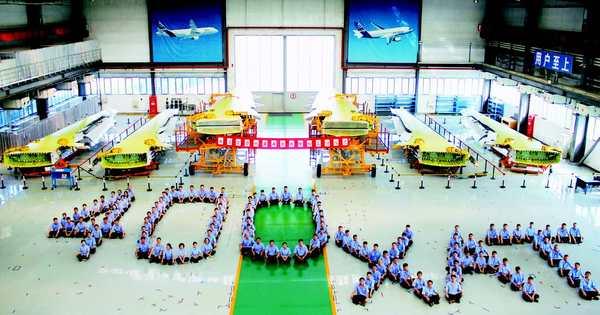 西飞天津公司顺利交付第400架空客A320机翼