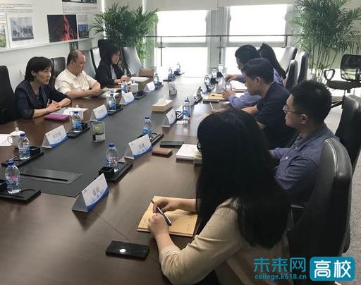 上海电力大学领导带队到临港集团创新管理学院调研洽谈