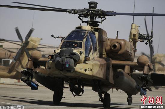 美军再出坠机事故 阿帕奇直升机坠毁致2人死亡