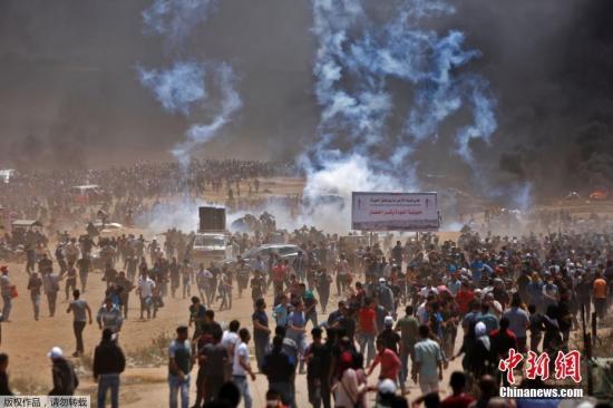 美国承认耶路撒冷是以色列首都,引发巴勒斯坦强烈抗议。