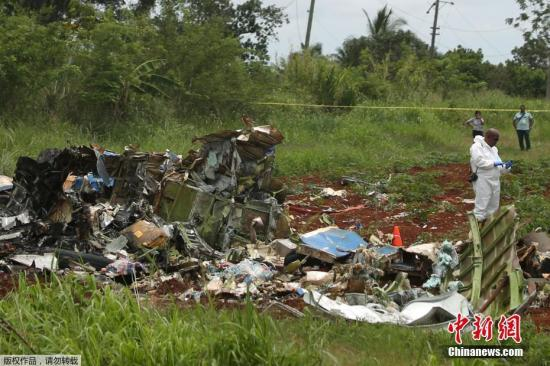 古巴坠机事故已确认110人遇难 3人奇迹生还(图)