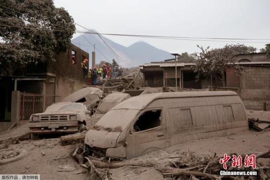 危地马拉火山爆发百余人丧生 沟通不良致疏散延误