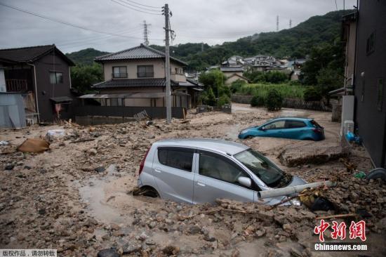 日本暴雨已造成逾百人死亡