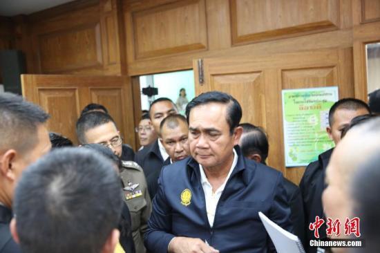材料图:泰国总理巴育。中新社记者 王国安 摄