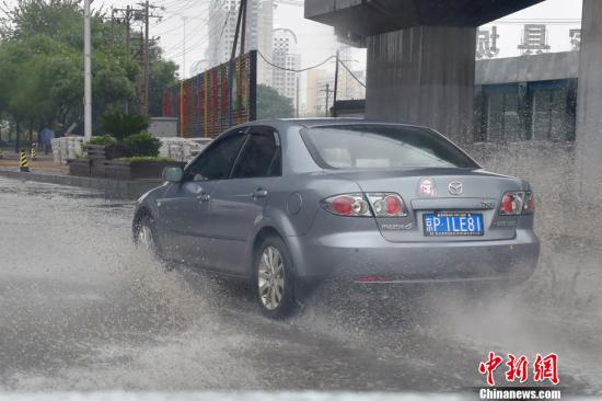 北京气象台继续发布暴雨蓝色预警:今夜将有雷阵雨