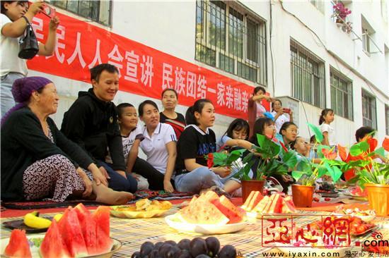 新疆裕民县:民族团