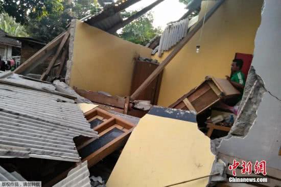 4级强震致10死40伤 巴厘岛等地震感明显