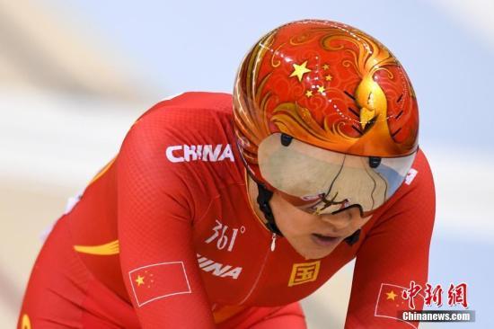 场地自行车中国男队追逐赛卫冕 钟天使凯林赛摘铜