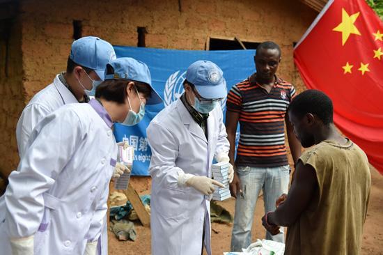 中国医疗队在非洲