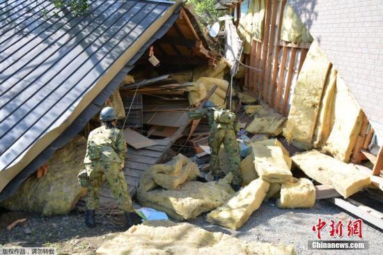 """北海道地震救援""""黄金72小时""""已过 仍有5人失踪"""