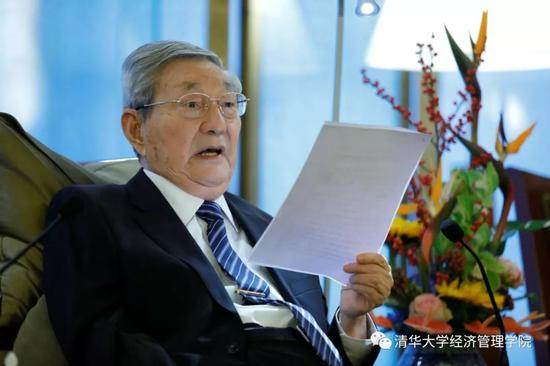 朱镕基会见清华经管学院顾问委员会委员(图)