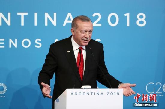 资料图:土耳其总统埃尔多安。中新社记者 盛佳鹏 摄