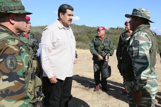 马杜罗正式启动委内瑞拉史上最大规模军演