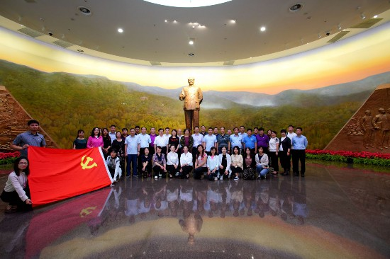 丰台区基层干部群众参观香山革命纪念地