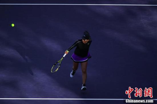 天津网球公开赛:郑赛赛2比0胜段莹莹