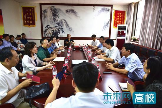 北京石油化工学院赴雄安新区安新县对接校地深入合作