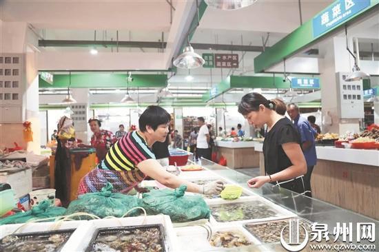 泉州市区西街菜市场完成升级改造:颜值大提升市民逛得欢