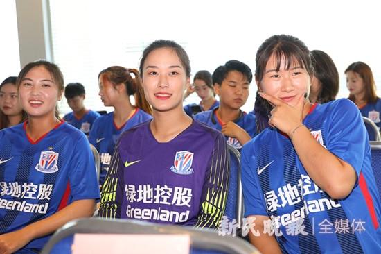 3球完胜山东理工大学队 申花上体女足冲甲成功
