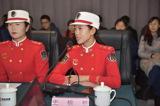 朝阳区文旅系统举行弘扬女民兵精神专题座谈会