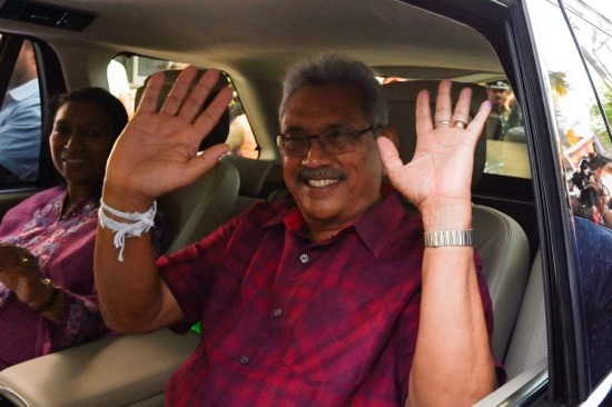 斯里兰卡选委会宣布戈塔巴雅赢得大选