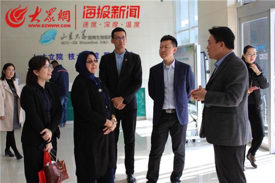 生物医药研究院与马来西亚林肯大学及山东医药联盟签署合作协议