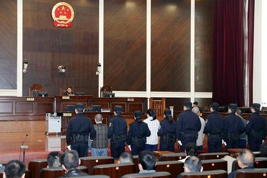 案件一审庭审现场 来源:湖北省高级人民法院网站