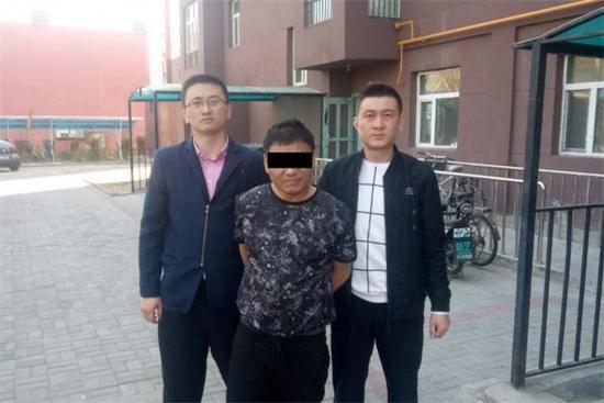 姜某被警方抓获。