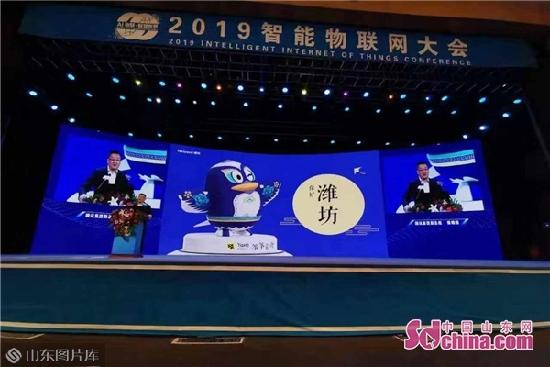 2019智能物联网大会开幕 腾讯为潍坊设计了风筝QQ形象