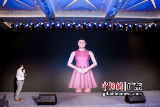 超写实虚拟数字人在深圳发布