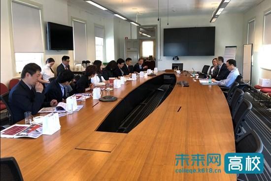 北京石油化工学院代表团出访澳大利亚四所高校 推动合作交流