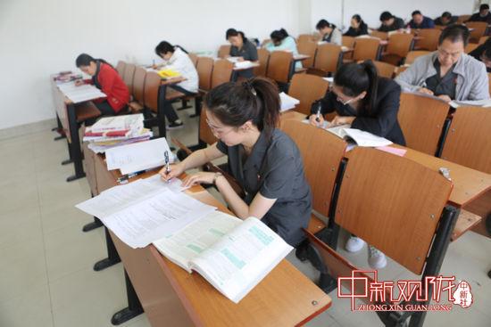 甘肃省第五批员额法官检察官选任笔试开考